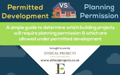 Permitted Development vs Planning Permission UK Infographic Guide